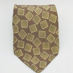 Isaco Accessories - ISACO GEOMETRIC PATTERN  TIE